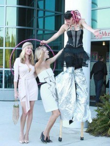 stilt-walkers-wilmington-nc-santa-cruz-ca-wedding-entertainment