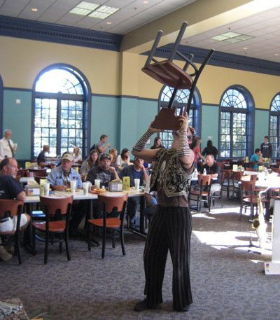 juggler-balancing-chair-on-face-wilmington-nc-variety-show-entertainers
