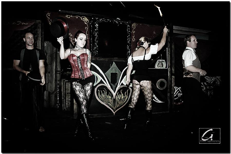 Sideshow Amp Burlesque The Fire Dancers Of Creative Flame