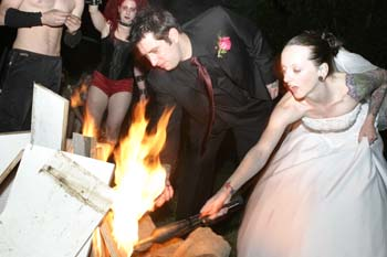 WeddinglightingFire